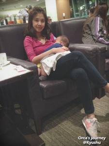 เด็กนมแม่หลับปุ๋ย