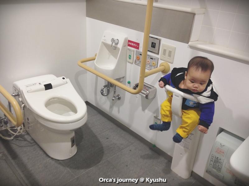 ห้องน้ำสะดวกมาก ให้ออร์ก้ารอก่อน