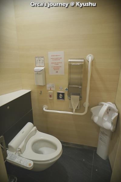 ห้องน้ำที่นี่สะดวกสำหรับเด็กมากๆ