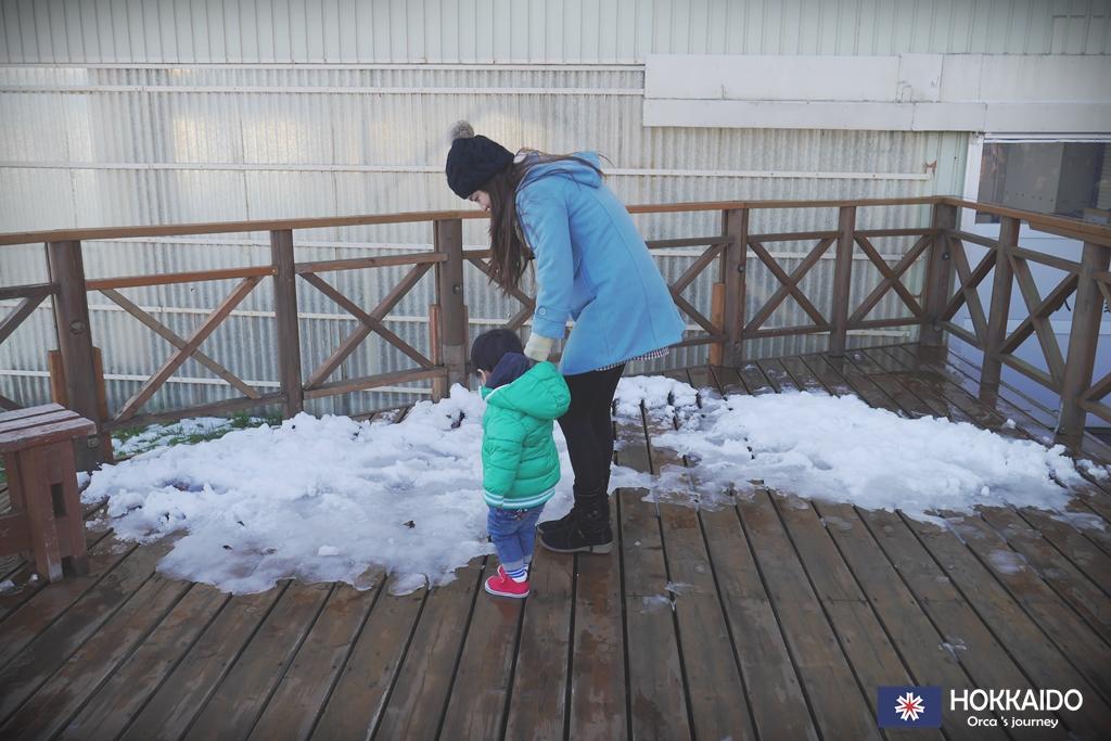 หิมะครั้งแรกของป๋ม