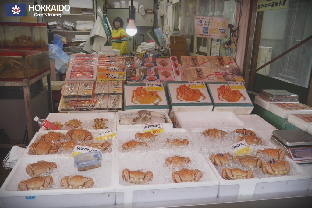 ตลาดเช้า Hakodate