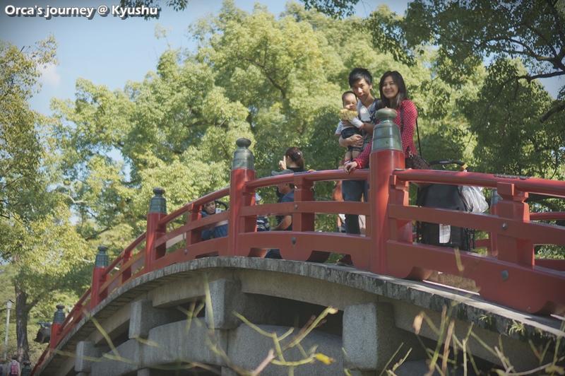 ถ่ายบนสะพาน